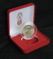 King Bhumibol Adulyadej Rama IX 72nd Birthday Thailand 20 Baht Coin with Box