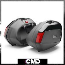 GIVI Motorcycle Black Side Panniers Side Cases (35L x 2) V35N