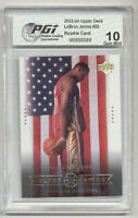 2003-04 Upper Deck LeBron James PGI 10 Rookie Card #23