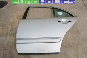 OEM MERCEDES W210 E320 96-02 Left REAR Driver Side Door Shell GOLD 702