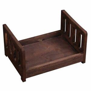 Baby Crib Photography Props Newborn Basket Photo Studio Wood Gift Accessories