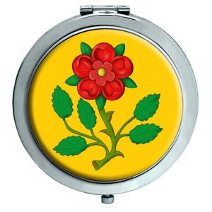 Lancashire Rosa Espejo Compacto