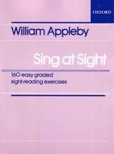 SING AT SIGHT Appleby