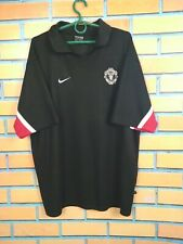 Manchester United Jersey Polo Size XL Training Shirt Football Soccer Nike