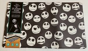Disney The Nightmare Before Christmas Anti-Fatigue Padded Kitchen Mat 18x30 NWT