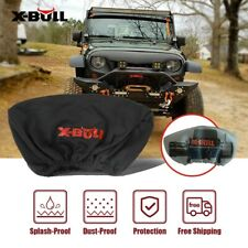 X-BULL Winch Cover Waterproof  fits 8000-17000LBS Winch Dust Cover Soft 4X4