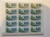 Russia Ussr 1976 15th Anniv of First Manned Space Flight full stamp sheet MNH