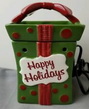 Retired Scentsy All Wrapped Up Full Size Warmer Holiday Collection 2010