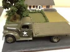 New  1/32 scale diecast 1941 Military Chevy Flatbed  truck