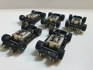 TYCO HP7 chassis lot of 5 unused grey wheels,LOOK !