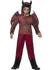 Boys Deluxe Devil Halloween Fancy Dress Costume 01- 44295 Medium