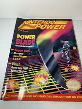 Nintendo Power 23 April 1991 Power Blade With Poster Attached
