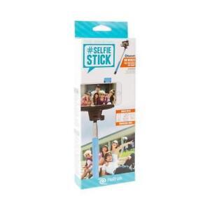 ReTrak Original Wireless Bluetooth Extendable Selfie Stick Cellphone Camera Blue