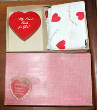 Vintage Jockey Boxers ~ Valentine's Surprise Package Box with Wind Up Heart!