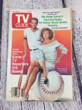 Vtg 1988 Oct 15-21 TV Guide - Kevin Costner Susan Sarandon Bull Durham on Cover
