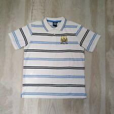 Manchester city football fan jersey (Polo) white size L