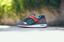 "NEW Balance 577 ""napes"" - UK 11.5, US 12-Made in Inghilterra m577ngo GRIGIO ROSSO"