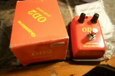Guyatone OD-2 overdrive pedal with original box