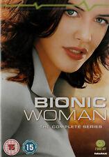Michelle Ryan BIONIC WOMAN Brand New but UNSEALED 2-DVD Set Region 2 - 323 Mins