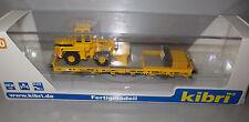 Kibri 26274 H0 Niederbordwagen mit Radlader GleisBau Fertigmodell