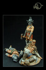 La barca de Charonte (3 figures) 1:30 El Viejo Dragon Miniaturas Pin Up Roma12