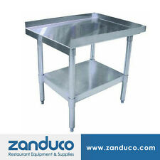 """Zanduco Stainless Steel 30"""" X 36"""" Equipment Stand Nsf"""