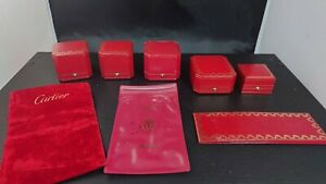 Lot cartier ring box vintage card case booklet travel pouch mr350150721