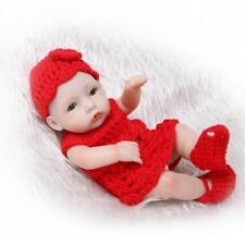 "Anatomically Correct 10"" Realistic Reborn Baby Dolls Newborn Baby Handmade Girl"