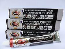 (6,66€/100 ml) 3x 75 ml Autosol® Aluminium Politur Reiniger Alu Polish Cleaner