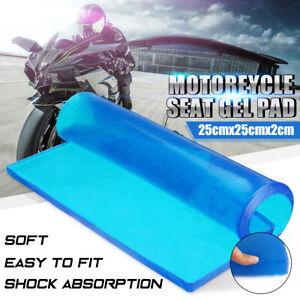 Motorcycle Seat Elastic Fiber Motorbike Comfort Gel Cold Pad Cushion 25*25*2cm