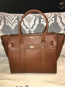 Mulberry large zipped Bayswater oak NEW