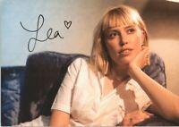 Lea *UH* Musik Sängerin handsignierte Autogrammkarte AK 3514