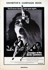 INVASION OF THE BODY SNATCHERS 1978 Donald Sutherland, Brooke Adams PRESSBOOK