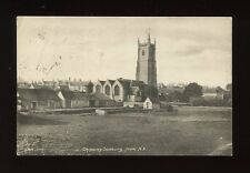 Gloucester Glos CHIPPING SODBURY from north east Used 1908 PPC