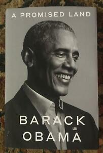 OBAMA A PROMISED LAND HardCover Book BRAND NEW First Edition 2020 CROWN BOOKS