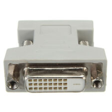 DVI-I Female Analog 24+1 to VGA Male 15-pin Connector Adapter Converter