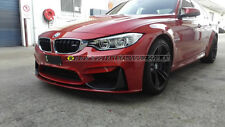 BMW f82 M4 carbon fiber front lip- m tech bar kit spoiler 3d wing gt