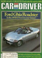 CAR & DRIVER 1984 DEC - BITTER, TVR TASMIN 280i, VETTE