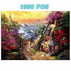 1000PCS Jigsaw Puzzles Household Romantic Puzzle Game Kids Toy Adult Children
