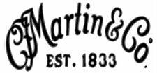 Martin & Co  Headstock Logo  STICKER
