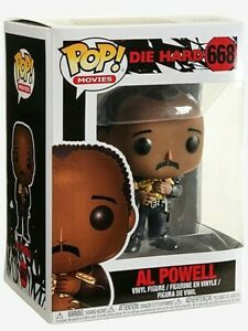 Funko POP #668 Movies Die Hard Sergeant Al Powell Figure Brand New and In Stock