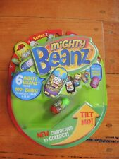 Mighty Beanz Series 2, 6 pack includes Mega Bean BRAND NEW SEALED
