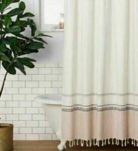 NEW Hearth & Hand by Magnolia Ombree Shower Curtain Copper