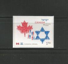 BOOKLET SINGLE   CANADA ISRAEL FRIENDSHIP    # 2379