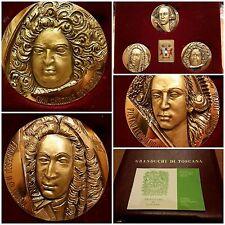 536 - Set di 3 Medaglie  commemorative dei Granduchi di Toscana III^ serie