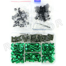 For Kawasaki Versys 650 2007-2012 CNC Complete Fairing Bolt Kit Body Screw Green