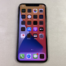Apple iPhone X - 64GB - Gray (Unlocked) (Read Description) BJ1107