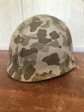 Reproduction M1 Steel Pot With Usmc Camo Cover Ww11 Impressions