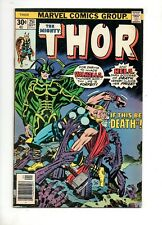 Thor #251 HELA vs. THOR COVER & STORY by JACK KIRBY! Fn- 5.5 1976