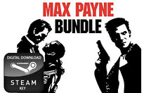 MAX PAYNE BUNDLE DOUBLE PACK 1 AND 2 THE FALL OF PC STEAM KEY